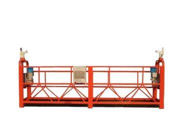 zlp500 საჰაერო შეჩერებული პლატფორმა აკვანი სამშენებლო მოწყობილობა გარე კედელზე