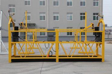 მაღალი ხარისხის და ცხელი zlp630 zlp800 დენის სამუშაო პლატფორმა zlp 630 შეჩერებული პლატფორმა