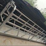 zlp630 / 800 ll ფორმის ალუმინის დისკები, ფოლადის მშენებლობა შეაჩერა სამუშაო პლატფორმა ლიფტით მშენებლობის ფანჯრები