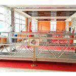 zlp630 ალუმინის შეჩერებული პლატფორმა (ce iso gost) / მაღალი ზრდის ფანჯრის გაწმენდა ტექნიკა / დროებითი gondola / აკვანი / სვინგის სცენაზე ცხელი